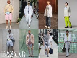 5 xu hướng thời trang nam thống lĩnh sàn diễn Xuân Hè 2021