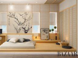 Mang sự tĩnh tâm của thiền vào nhà với phong cách nội thất Zen Nhật Bản