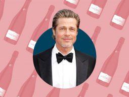 """Brad Pitt ra mắt chai champagne rosé """"nhà làm"""" sau gần 4 năm ấp ủ"""