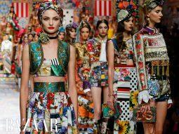 Dolce & Gabbana Xuân Hè 2021: Các mảng patchwork chắp vá