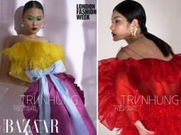 Quán quân Next Top Model tề tựu trong bộ ảnh thời trang Xuân Hè 2021 của Trần Hùng