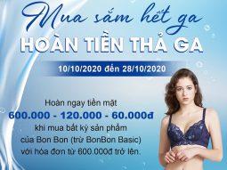 Bon Bon Underwear tung ưu đãi cực hấp dẫn mừng ngày Phụ nữ Việt Nam