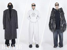 Balenciaga Xuân Hè 2021 Pre Collection biến thời trang tái chế thành streetwear
