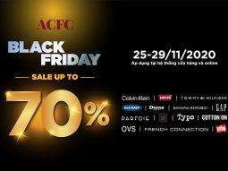ACFC Black Friday 2020: Hàng hiệu siêu giảm giá lên đến 70%