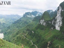 Du lịch Hà Giang: Vách Đá Trắng trên đèo Mã Pì Lèng và Con Đường Hạnh Phúc