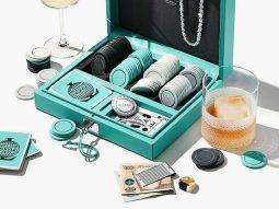 Ý tưởng Quà Giáng Sinh từ Tiffany & Co: Bộ bài poker, mạt chược bằng bạc ròng!