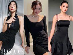 Cách diện đầm đen Little Black Dress (LBD) đi tiệc cực sang như Lan Ngọc, Kaity Nguyễn