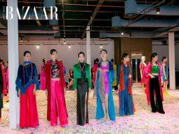 """BST Umbrella Thu Đông 2020 """"Vietnam Color"""" thể hiện sự tinh túy của sắc màu lụa Việt"""