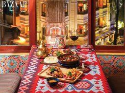 Amun Restaurant & Lounge: Khu vườn Ba Tư giữa lòng Sài thành