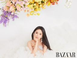 Bìa Harper's Bazaar VN số 1-2021: Tiểu hoa đán Dương Mịch (3)