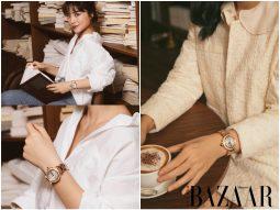 Với chỉ một chiếc đồng hồ, Hà Trúc vẫn có thể biến hoá phong cách đa dạng