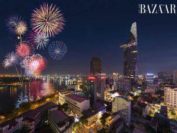 Hotel Grand Saigon: Địa điểm thưởng thức buffet, ngắm pháo hoa cuối năm