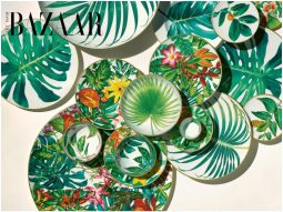 Hermès tôn vinh mẹ thiên nhiên với bộ sưu tập đồ sứ Passifolia