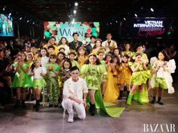 NTK Wuan Phan hoài niệm về một tuổi thơ yên bình với BST Vườn cây của ba