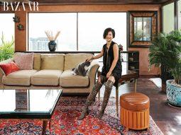 Căn penthouse phong cách Đông Dương bình yên của NTK Linh Trần