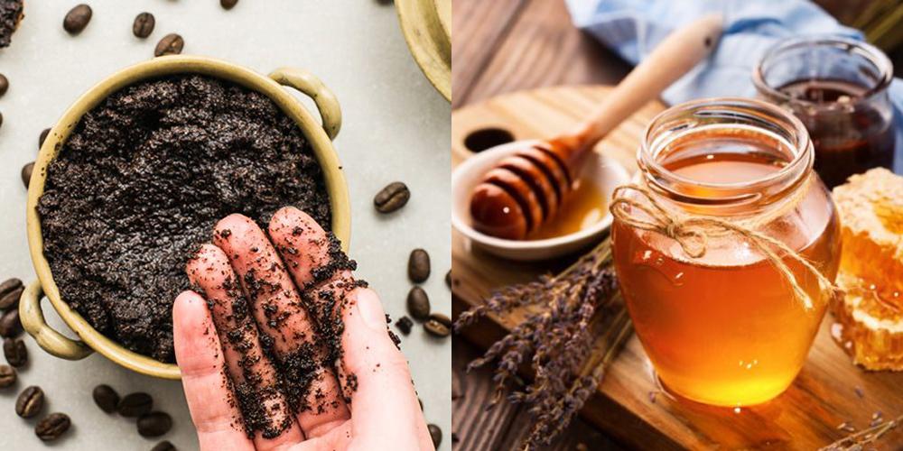 Tẩy da chết với bã cà phê