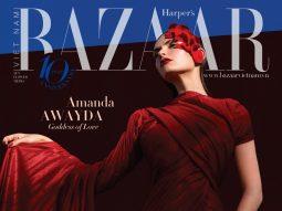 Amanda Awayda hóa Nữ thần tình yêu trên Bìa sinh nhật số 9/100