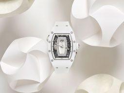 Đồng hồ Richard Mille RM 037 White Ceramic Automatic: Nét đẹp tinh khiết cho phái nữ