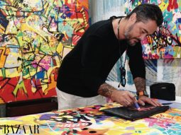 Nghệ sỹ graffiti huyền thoại gốc Việt Cyril Kongo triển lãm tranh Tết Tân Sửu 2021