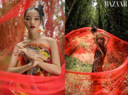 Khám phá danh lam thắng cảnh An Giang cùng Lâm Bích Tuyền qua bộ ảnh Tết 2021