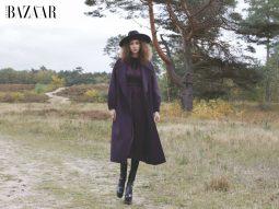 Những sắc thái mùa đông qua bộ ảnh thời trang A walk in the forest
