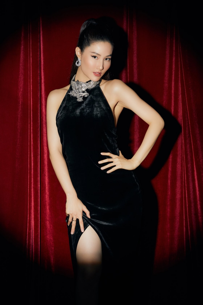 Diễm My đóng Jessica Diễm trong phim 1990