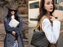 Lưu Diệc Phi, Địch Lệ Nhiệt Ba, Chung Sở Hy, ai diện túi Louis Vuitton Coussin thần thái hơn?
