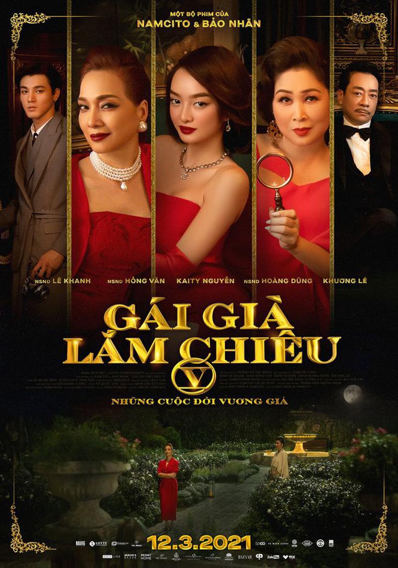 Loạt phim Tết Việt Nam 2021 công bố ngày chiếu rạp mới: Gái già lắm chiêu