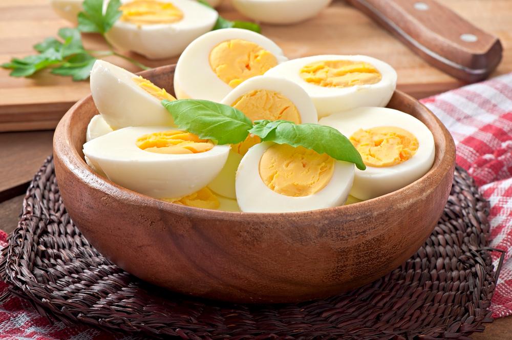 Thực đơn ăn 1.200 calo mỗi ngày: trứng luộc