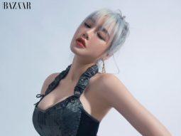 Elly Trần tái xuất với tóc bạch kim, nhận phản ứng cực đáng yêu từ hai nhóc tì nhà mình