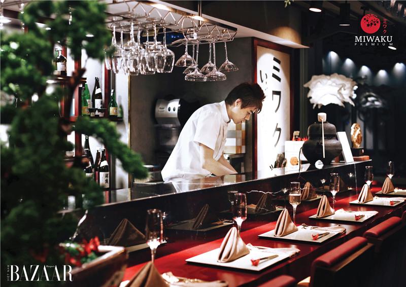 Nghệ thuật Omakase tại nhà hàng Miwaku Landmark 81