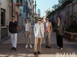 Lê Thanh Hoà, Adrian Anh Tuấn và Võ Công Khanh hội ngộ tại Fashion Voyage 3