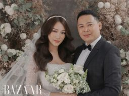 Bộ ảnh cưới lãng mạn của đạo diễn Nguyễn Hiếu Tâm và beauty blogger Julie Lâm