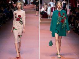 Cảm hứng hoa hồng trong những bộ sưu tập thời trang kinh điển