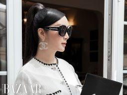 """Vì sao bộ suit vải tweed phối hai gam trắng và đen """"nhìn là biết Chanel""""?"""