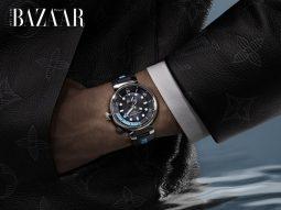 Tambour Street Diver, chiếc đồng hồ lặn phù hợp với mọi phong cách của Louis Vuitton