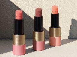 Rose Hermès: Phấn má và son gió lấy cảm hứng từ dải lụa hồng