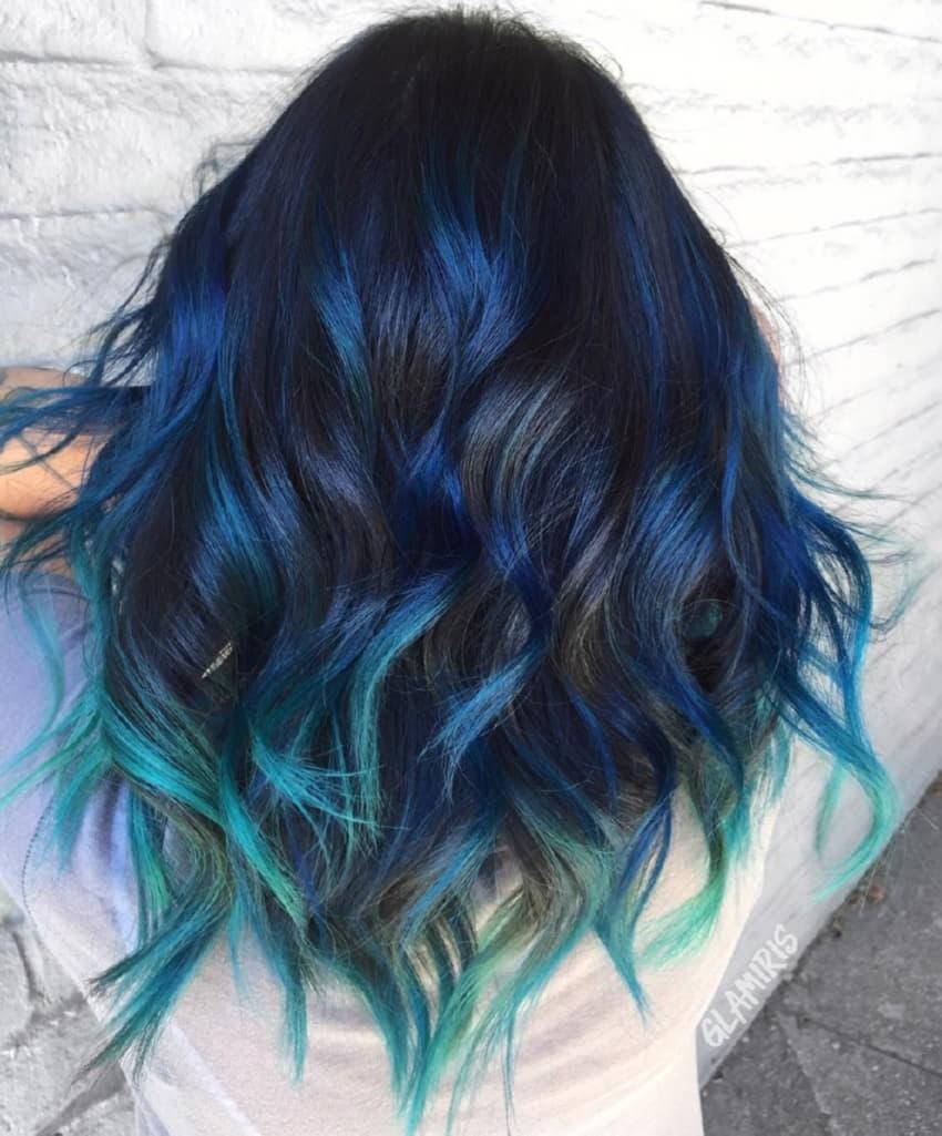 Những kiểu tóc đi chơi đáng yêu nhất:Tóc nhuộm