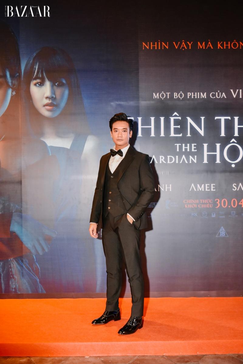 Trúc Anh, Amee và Salim quyến rũ trên thảm đỏ công chiếu phim Thiên thần hộ mệnh