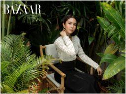 Người mẫu Huỳnh Vy gợi ý thời trang đi biển kiêu kỳ từ BST DECOS Resort 2021