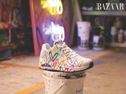 Skechers x JGoldcrown mang những trái tim graffiti lên giày thể thao