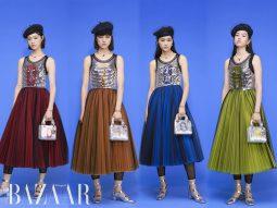 Dior thiết kế hẳn một bộ sưu tập Thu Đông 2021 mới cho tuần lễ thời trang Thượng Hải
