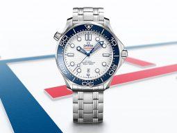 OMEGA ra mắt đồng hồ Seamaster Diver 300M Tokyo 2020 dành riêng cho Thế Vận Hội Olympic