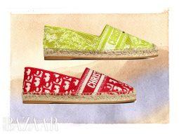 Dior gợi ý 4 dòng giày nữ xinh cho hè từ bộ sưu tập capsule Dioriviera 2021