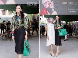 Nghệ thuật ăn mặc tinh tế của doanh nhân Lê Hồng Thủy Tiên