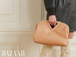 Túi Bottega Veneta Point Bag: Daniel Lee trở lại với một chiếc túi minimalist mới