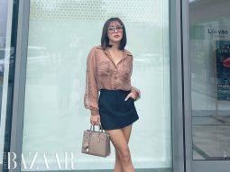 Lừa tình như Văn Mai Hương: Đứng trước cửa hàng Dior nhưng lại khoe túi Saint Laurent!