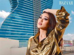 Hoa hậu Khánh Vân nổi bật với phong cách futuristic tại Miss Universe