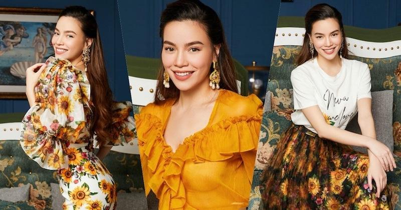 Hồ Ngọc Hà biến hóa phong cách với Neva Fashion