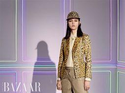 Dior đưa họa tiết da báo vào chiếc áo khoác Bar Jacket huyền thoại